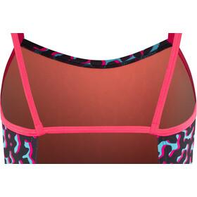 Nike Swim Glow Baddräkt Flickor racer pink